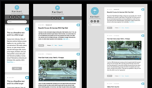 responsive wordpress design layouts