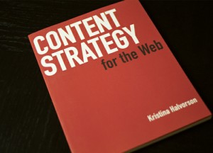 Book Content strategy for The Web For Web Designers And Developers
