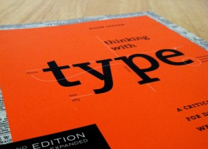 Book Thinking  with type : For Web Designers And Developers