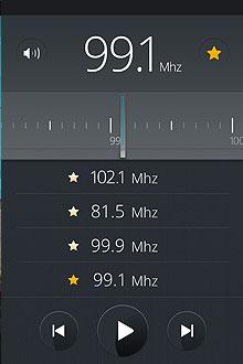 Firefox OS Radio